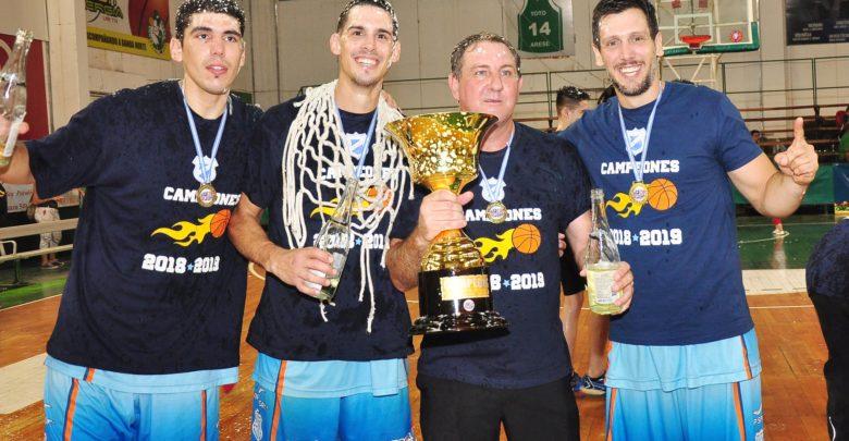 Facundo Toledo, Oscar Cabrera, Gustavo Rossotto y Leandro Conti