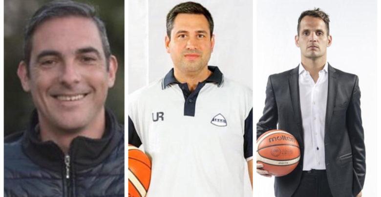 Aguilar, González y Lardone, los conductores.