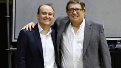 Gerardo Montenegro (AdC) y Fabián Borro (Cabb)