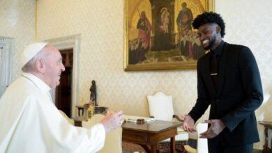 Respaldo papal a los jugadores NBA